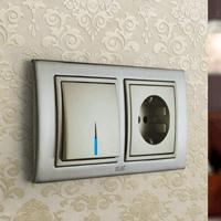 Установка выключателей в Салавате. Монтаж, ремонт, замена выключателей, розеток Салават.